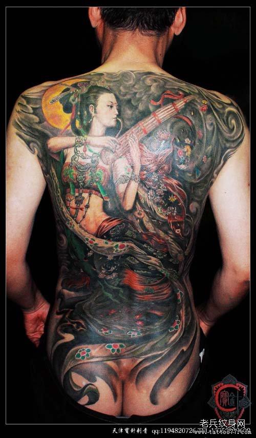 纹身图案大全 人物纹身图案大全