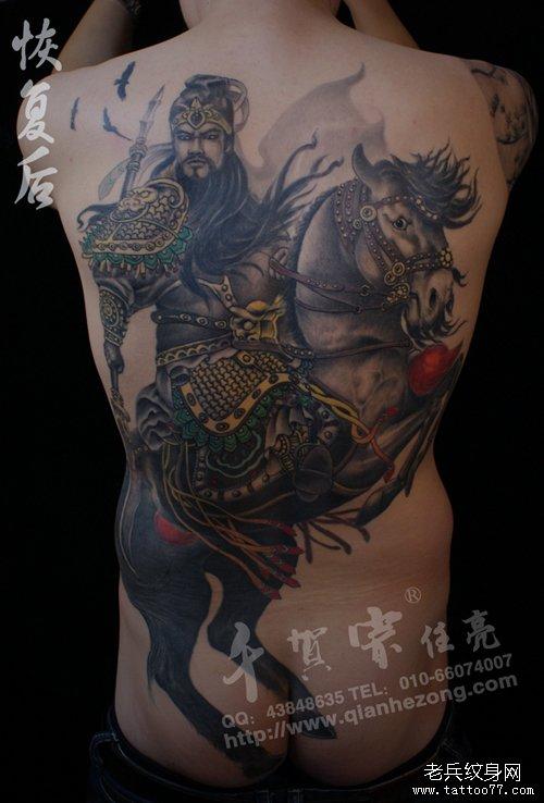 人物纹身图案大全    图片