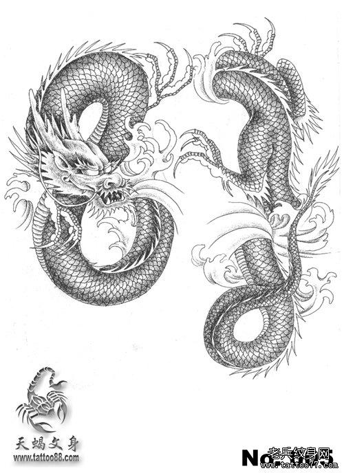 纹身 图案 武汉/查看更多过肩龙纹身图案请登陆武汉专业纹身店老兵刺青网http://...