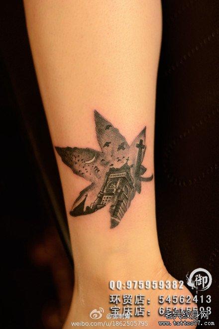 纹身案请登陆武汉专业纹身店老兵刺青网