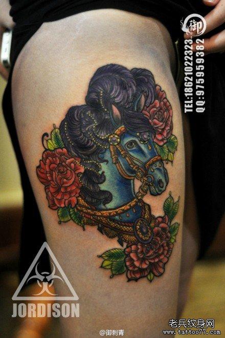 纹身主页 纹身图案大全 动物纹身图案大全   发表