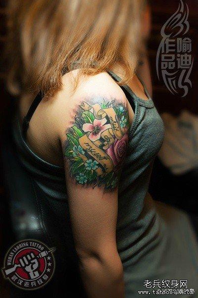 纹身 武汉/爱情是多样的,爱情表达方式也是多样的,而纹身则是其中的一种...
