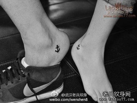 情侣船锚纹身图案的寓意