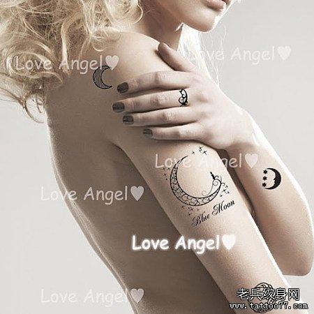 适合女生的字母纹身图片