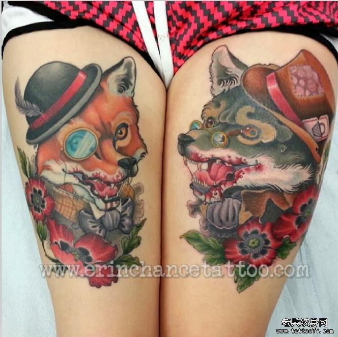的动物纹身图案