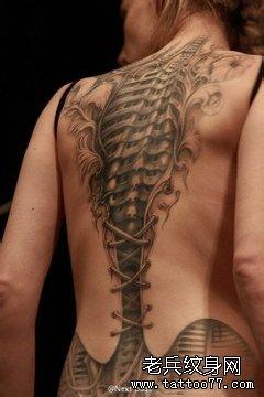 一款个性的纹身图案由武汉纹身网推荐