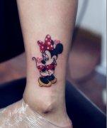 米老鼠纹身图案图片