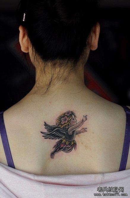 背部文身图案tag标签_武汉纹身店之家:老兵纹身店,,.
