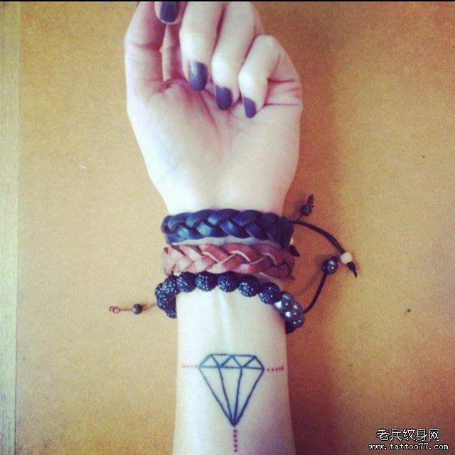 一款手臂小清新纹身图案由武汉纹身店推荐图片