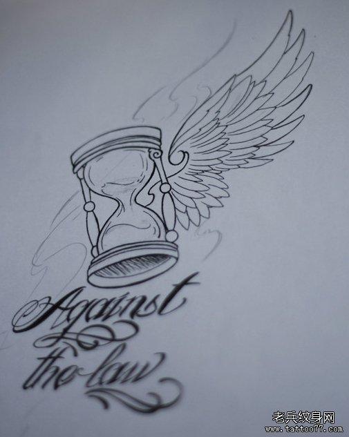 com | 标签:文字纹身图案沙漏纹身图案纹身手稿图案       申明:此图片