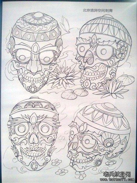 传统年鉴纹身手稿(36)