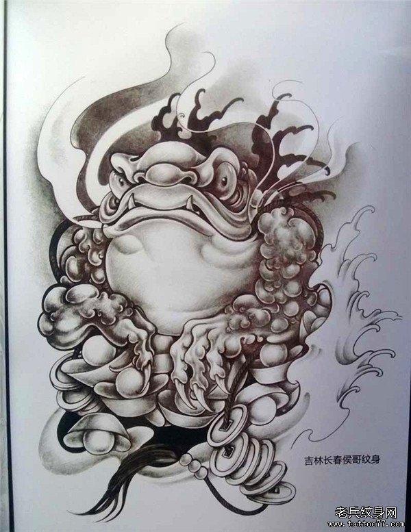 传统年鉴纹身手稿(53)