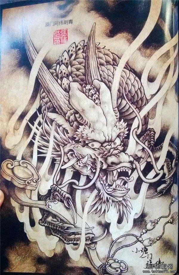 传统年鉴纹身手稿(99)