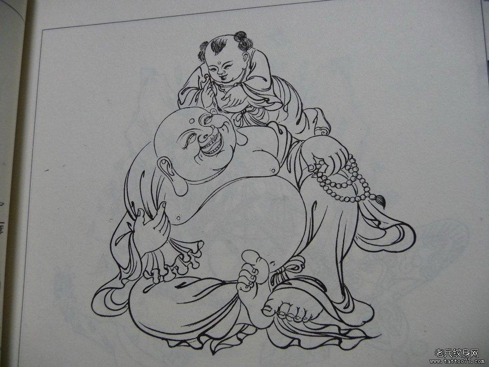 com | 标签:弥勒佛纹身图案纹身线稿图案  申明:此图案是为了提供给