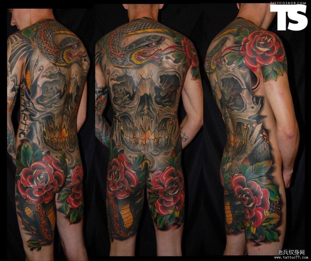纹身主页 纹身图案大全 满背纹身图案大全   发表