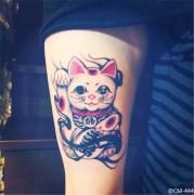 大臂猴子纹身图案由武汉最好的纹身馆推荐 2014-07-04 12:11:06 手臂