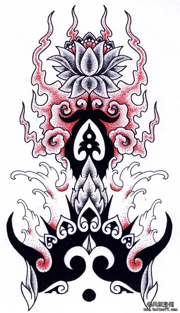 武汉纹身店推荐蜂鸟纹身手稿图案