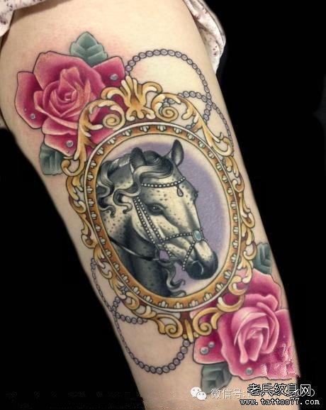 一组tattoo十二生肖の牛纹_纹身图案