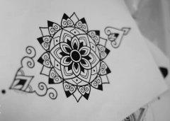 纹身图案分享# — 樊花纹身图图片