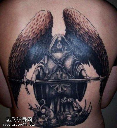天使纹身图案类型与意义