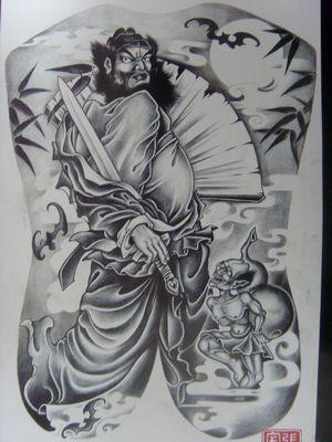 2011-10-12 11:43:29 背部纹身图案大全:后背十字架翅膀纹身图案图片图片