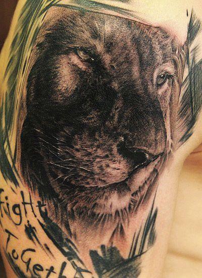 分类:狮子纹身图案大全 | 点击:1307  满背狮子头纹身