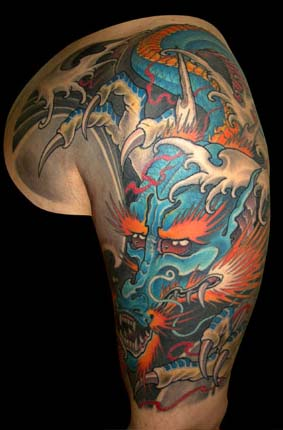 半胛纹身图案Tag标签 老兵纹身店,武汉纹身培训学校,纹身图案图片