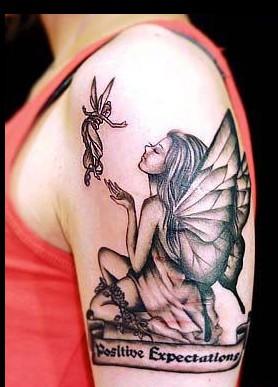 分类:天使精灵纹身图案大全 | 点击:1927  精灵