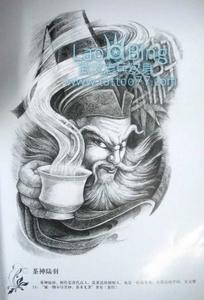 2011-10-17 09:57:30 满背纹身图案大全:适合做满背的四大天王纹身