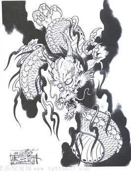 分类:纹身手稿大全 | 点击:629  鲤鱼 纹身 手稿