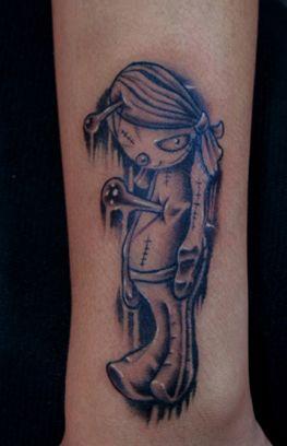 小猪文字纹身图案分享展示