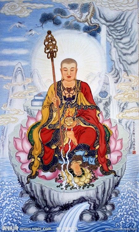 地藏王纹身图案大全 多图高清图片
