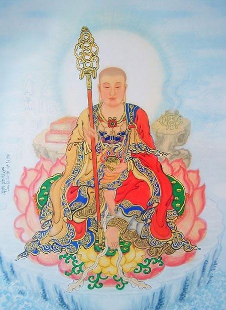 地藏王纹身 图案大全 多图 武汉老兵纹身机构高清图片
