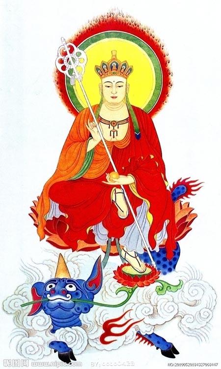 武汉纹身地藏王纹身图高清图片